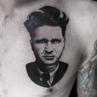 Emil Cioran. Seven doors tattoo, London